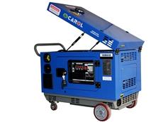 Portable silent generators