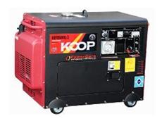 Silent 3 phase diesel generators