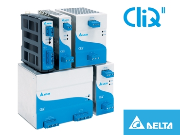 Delta Cliq II Din Rail 24V series available from Powerbox