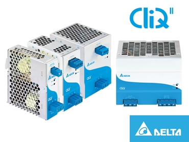 Delta Cliq II Din Rail 48V series available from Powerbox