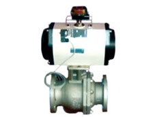 2150 series flanged end ball valve