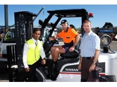 Powerlift Nissan forklift