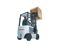 Nissan - BX pneumatic 1.5 to 3.0 tonne battery electric forklifts from Powerlift