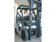 The Nissan LX series forklift