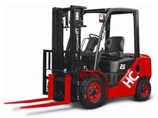 HC series forklifts comply with EU stage III control regulation, resulting in reduced fuel consumption and emissions