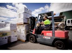 Powerlift Nissan's materials handling equipment