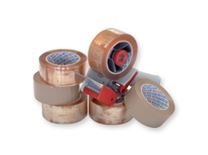 Adhesive tapes and dispensers available from Powerpack Packaging