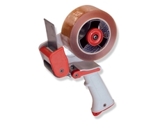 Tape dispensers available from Powerpak Packaging
