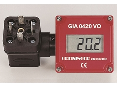 GIA420VO loop powered digital indicators feature a 10mm LCD display