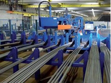 No employees are needed for operating the concrete reinforcing steel cutting system from Pedax