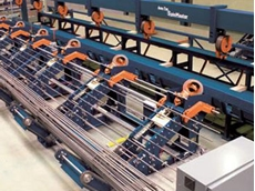 Pedax Spinmaster for automated roll mat production