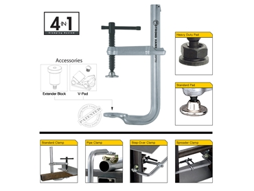 4-in-1 Clamp System