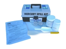 Mercsorb mercury absorbents are available in kit form