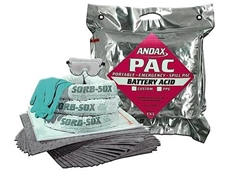 Battery Pac battery acid spill kits