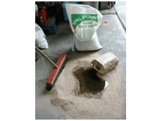 Spill Sponge Econo mineral organic absorbent is environmentally friendly