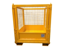 Spill Containment Safety Cage