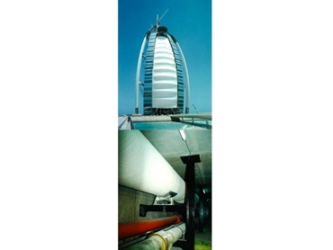 Pipe Supports in Burj Dubai