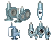 Threaded and flanged safety relief valves from Pressure and Safety Systems