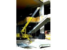 The Preston crane at the QUT project site
