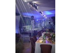 ProDesign transformed the mine site into a marquee complete with an Australian bush theme and distinctive lighting techniques