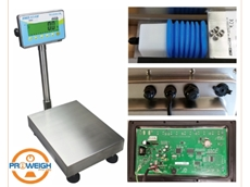 Wash-down scales for the food and chemical industry