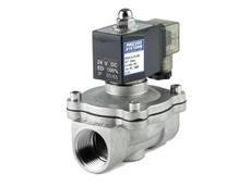 Solenoid tank valve
