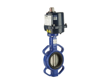 Wafer cast iron butterfly valves for industrial applications