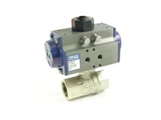 Nickel plated brass ball valves