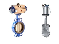 Valves should be selected based on the media used in the application