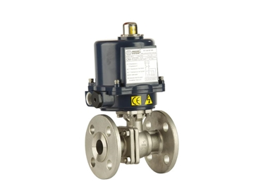 Stainless steel flanged balll valves for utility services