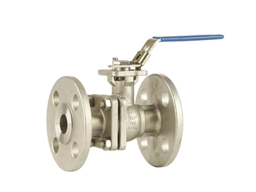 Flanged ball vavles available in pneumatic, electric or manual actuation