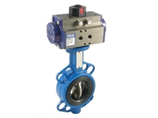 pneumatically actuated butterfly valve ideal for water trucks