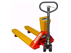 pallet truck weight with scale from Procureit