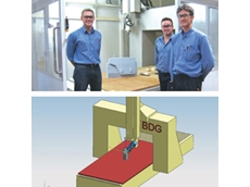 Australian-made BDG 605 five axis CNC