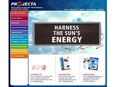 Projecta upgrades website