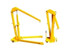 Fold-A-Way Mobile Floor Cranes