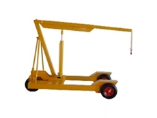 1200kg Pneumatic Mobile Floor Crane