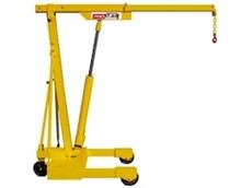 1500kg Compact Mobile Floor Crane