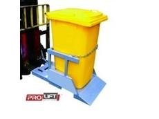 240-litre wheelie bin tipper