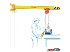 AW LIGHT Wall Mounted Slewing Jib Crane
