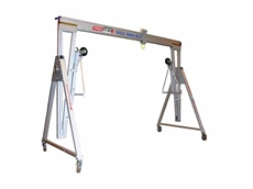 Prolift aluminium gantry crane with 5000kg lift capacity