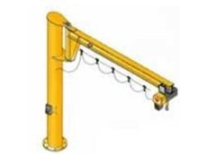 The Assistant Wall Mounted Slewing Jib Crane