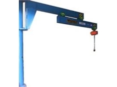 Cat Head Extendable Slewing Jib Crane