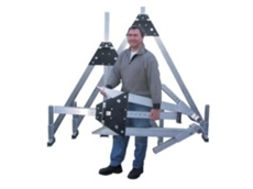 Collapsible Aluminium Gantry Crane from Prolift