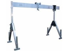 Collapsible gantry crane