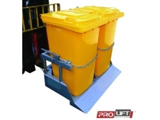 Double wheelie bin tippers from Prolift Solutions