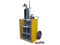 Gas cylinder cages from Prolift Solutions Pty Ltd