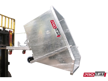 Hydraulic bin tippers from Prolift Solutions