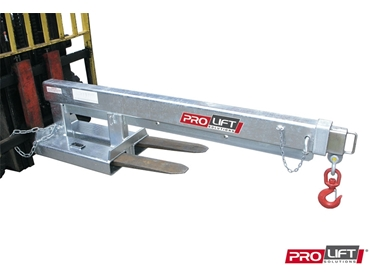 Forlift attachments - Hydraulic, non hydraulic and quickhitch jibs from Prolift Solutions
