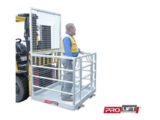 Cage attachments for Forklifts from Prolift Solutions